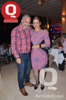 Chuy Parada y Liz Aguirre
