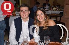 Fabián Andrade y Carolina Padilla