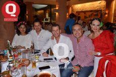 Janeth López, Jorge Martínez, Fernando Magaña, David Pons y Noemí González