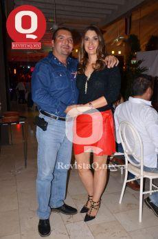Jorge Ramírez y Paola Porrero