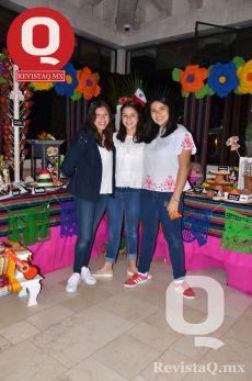 Natalia Rizo, Marifer Cerda y Daniela Quiroz