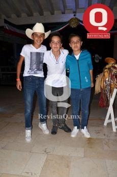 Patrizio Moreno, André Stoever y Nicolás Castañeda