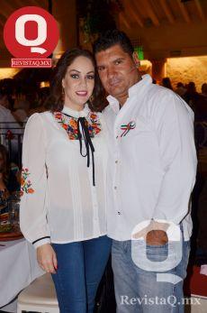 Rosmy Plascencia y Roberto Porrero