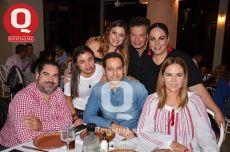 Víctor Rodríguez, Gemile Abugaber, José Abugaber, Sandra de Abugaber, Jenny Madrigal, Geras Stoever, Luisa Pérez