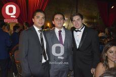 Miguel Carreón, Pedro Medina y Mauro Valadez