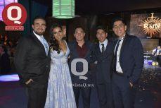 Arturo Ramírez, Victoria Noriega, Alejandro de la Fuente, Ever López e Iván Ontiveros