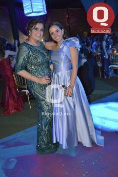 Cristina López y Valeria Vargas