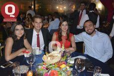 Fernanda Vela, Eduardo Gutiérrez, Andrea Vela y Ricardo Vela