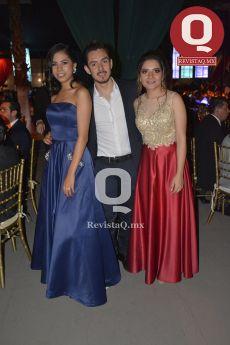 Karla Cortés, Ing. Emilio de la Serna y Karen Arias
