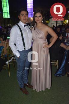 Luis Contreras y Tania Ramírez