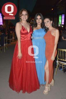Mariana Rodríguez, Alexa Quiñones y Andrea Pérez Alba