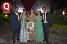 Mauricio Machorro, Mariana Hurtado Viviana Hurtado, Paola Hurtado y Jesús Serrano