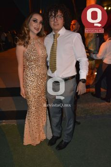 Natalia García y Maximiliano Mena