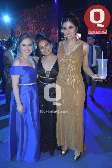 Sandra López, Wendoline Chávez y Tania Santos