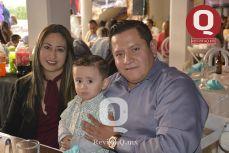 Alma Rosa Martin del Campo, Lic. Jesús Aguirre y Everyzack Aguirre Martin del Campo