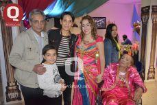 Roger Virdi, Susana Goerne, Natasha Andrade, Lucero González y María de Rosario Vd. González.