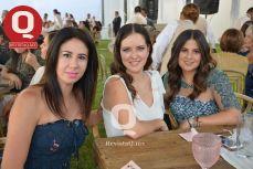 Adriana Calderón, Mariela Padilla y Paulina Rodríguez