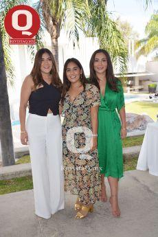Samantha Lázaro, Karen Ballesteros y Paulina Hernández