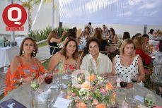 Tere Zárate, Anita Carranza, Yolanda Solís y Emma Rangel