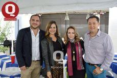 Diego Sandoval, Catherin Sandoval, Cecilia Treviño y Mario Morales