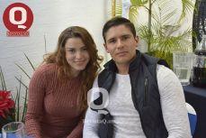 Balberit González y Erick Magaña