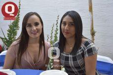 Irma Ríos y Norma Hurtado