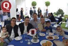 Joel Estrella, Eduardo Bravo, Mario Morales y Vicente Esqueda