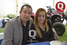 Lic. Jorge Álamo y Lic. Adriana Luna