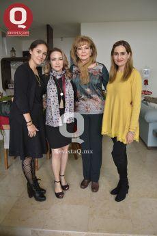 María Balmori, Cecilia Treviño, Arminda Reynoso y Martha Villegas