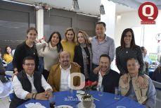 María Balmori, Martha Villegas, Cecilia Treviño, Mario Morales, Rosario Corona, Joel Estrella, Jorge Espadas, Eduardo Bravo y Vicente Esqueda