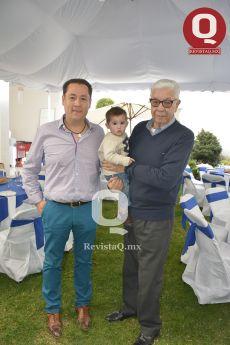 Mario Morales, Eduardo Bravo Balmori y José María Sepúlveda