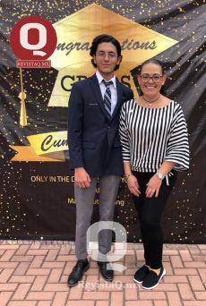 Marcelo Reynoso y su mamá Tony Peter
