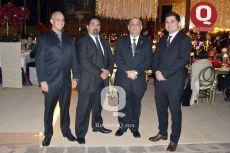 Alfredo Gallardo, Edgar Gallardo, Alfredo Gallardo y Luis Gallardo