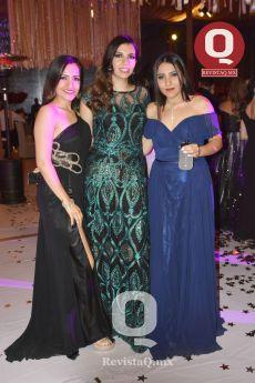 Andrea Arroyo, Marcela Gómez y Ximena Arroyo