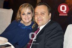 Claudia Berumen y Jesús Velázquez