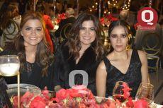 Daniela Palacios, Andrea Palacios y Diana Córdova