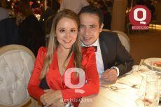Daniela del Bosque y David Villareal