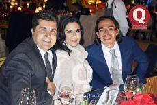 Edson Rubio, Sully de Rubio y Juan de Dios García