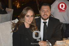 Jessica Magaña y Elias Ramírez
