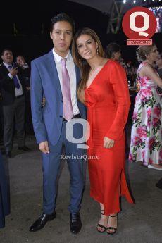 Andrés Núñez con Belinda Hernández