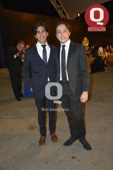 Arturo Villegas y Emilio López