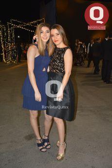 Carolina Orozco y Michelle Macías