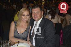 Gina Fuentes y Bernardo González