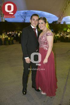 Guillermo Borja con Alejandra Zúñiga