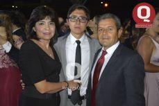 Josefina Cruz, Mauricio Anda y José de Jesús Anda