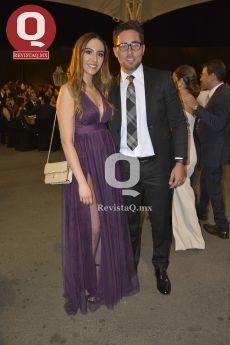 Renata Visoso y Jorge Marroquín