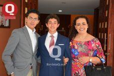 ENTRE AMIGOS Marcelo Aguirre con Marcelo Reynoso y Tony Piter