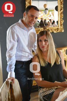 EN CAPITAL Q , Jesús Ascencio junto a Anabel Bernal