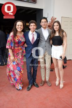 FOTO, FOTO  Tony Piter, Marcelo Aguirre, Marcelo Reynoso y Sophia Reynoso