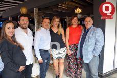 LOS ABOGADOS Sara Ríos, Luis Álvarez, Jesús Ascencio, Anabel Bernal, Elizabeth Casamadrid y Jorge Trejo